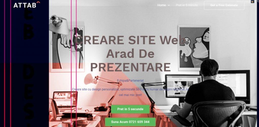 creare site Arad cu Webdesign Arad profesional