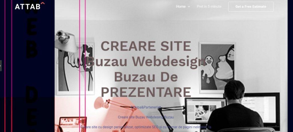 Creare site Buzau Webdesing Buzau