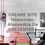 creare site alexandria, creare site teleorman, creare site web alexandria