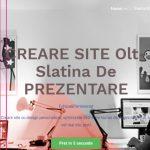 Creare site Olt Webdesing Olt