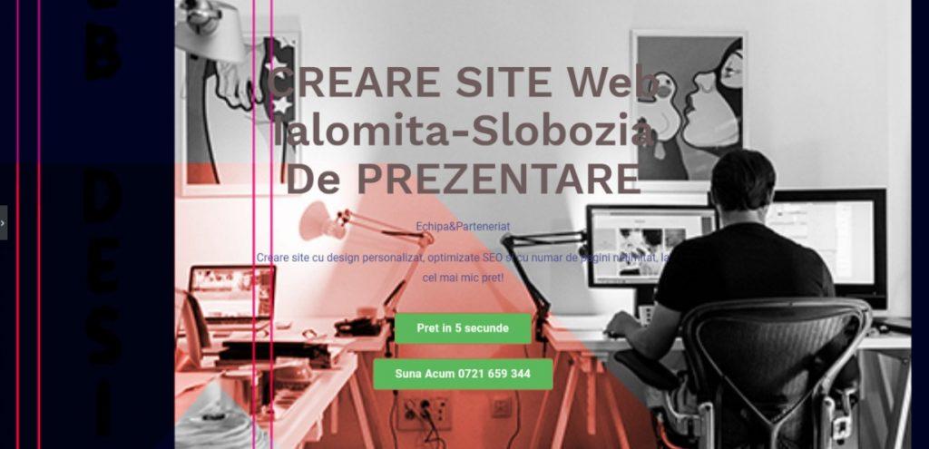 creare site Ialomita-Slobozia