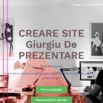 Creare site Giurgiu Webdesing Giurgiu